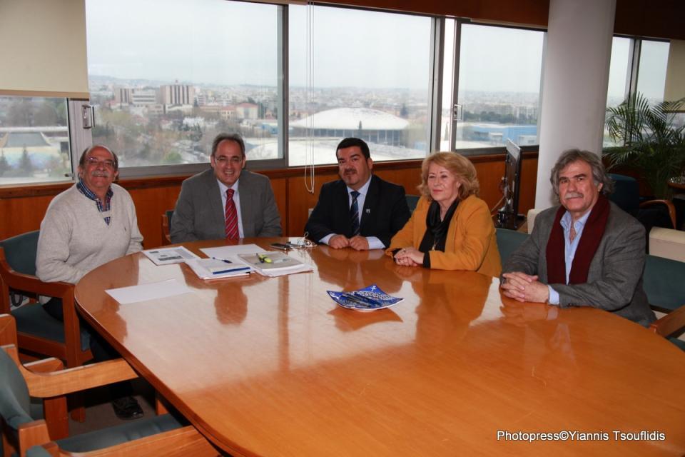 """Επίσκεψη του Προέδρου της """"Παγκόσμιας Δια-Κοινοβουλευτικής Ενώσεως Ελληνισμού"""""""