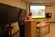 1. Professor Charlotte Witt and The President of DIKAM, Professor Demetra Sfendoni-Mentzou Η Καθηγήτρια Charlotte Witt και η Πρόεδρος του ΔΙΚΑΜ Καθηγήτρια Δήμητρα Σφενδόνη-Μέντζου