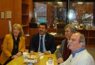 "Visit of the President of the ""World Hellenic Inter-Parliamentary Association"""