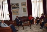 Meeting of the Executive Board of DIKAM (AUTH) with the Deputy Minister for Macedonia and Thrace, Mrs Maria Kollia-Tsaroucha